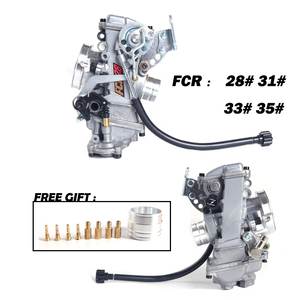 Image 2 - Da corsa Carburatore Per KTM KLX450 CRF 450 650 Motocross Scrambling FCR 28 a 41 mm Aggiungere il divisore di Potere 30% Dal Fatto di in TaiWan