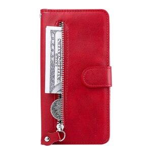 Image 3 - De lujo de cuero PU Flip teléfono caso Huawei Honor 9A 9X 8A 7A 20I 10I 10 Lite magnético cartera caso cubierta Coque