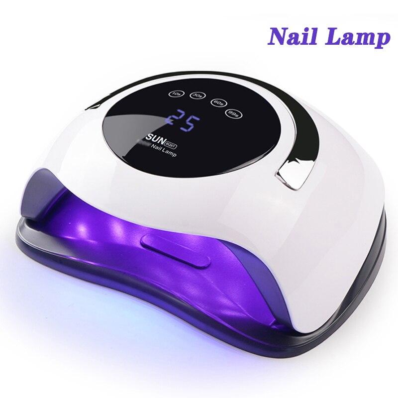מקצועי UV LED מנורת נייל מייבש 36 Pcs נוריות מנורת נייל מניקור נייל אמנות כלים ריפוי ג 'ל ציפורניים פולני עם LCD תצוגה