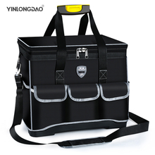YLD 2021 Tool Bag,Simple/Classic/Upgrade/Flagship Thick Waterproof Large Capacity Multi-function Electrician Bags