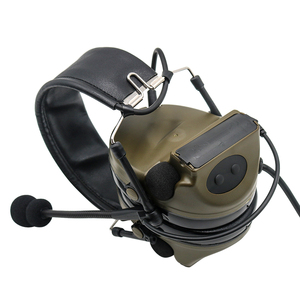 Image 3 - Comtac II Tactical Headset Military headphones Noise Reduction Sound Pickup Ear Protection FG+ U94 PTT Kenwood 2 pin Plug
