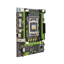 X79 материнская плата Lga 2011 4xDdr3 двухканальный 64 Гб памяти Sata 3,0 Pci-E 8Usb для настольных ПК Core I7 Xeon E5