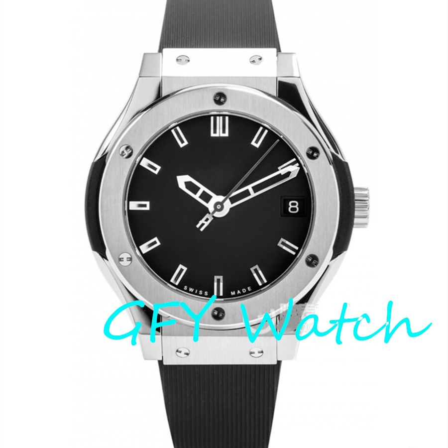AAA Ladies Automatic Mechanical Watch 581.NX. SS 1: 1 Rubber Strap Of Major Global Brands, 2813, 2892 Watch Movement