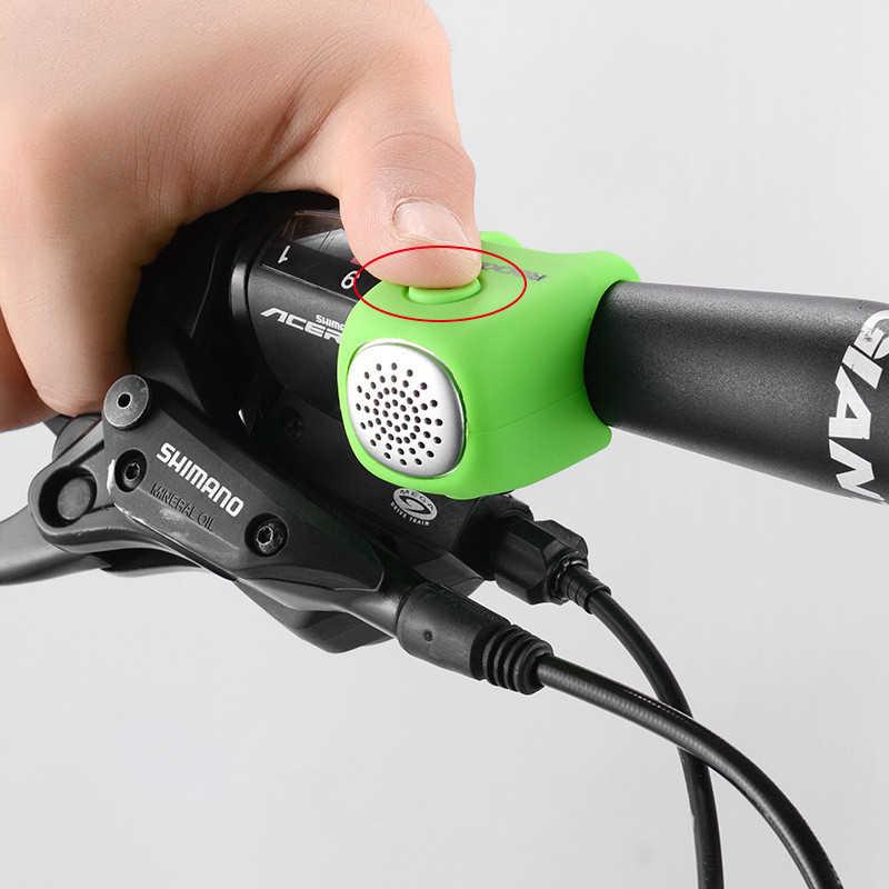 Kişilik bisiklet elektrikli boynuz bisiklet çan için dağ MTB bisiklet çan bisiklet parçaları bisiklet sabit dişlisi aksesuarları
