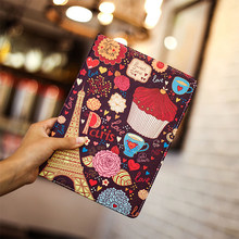Essidi Hot Sale Painting Cover For ipad Air 1 2 Stand Smart Tablet Protect Case Sleeve For ipad Air 1 2(China)