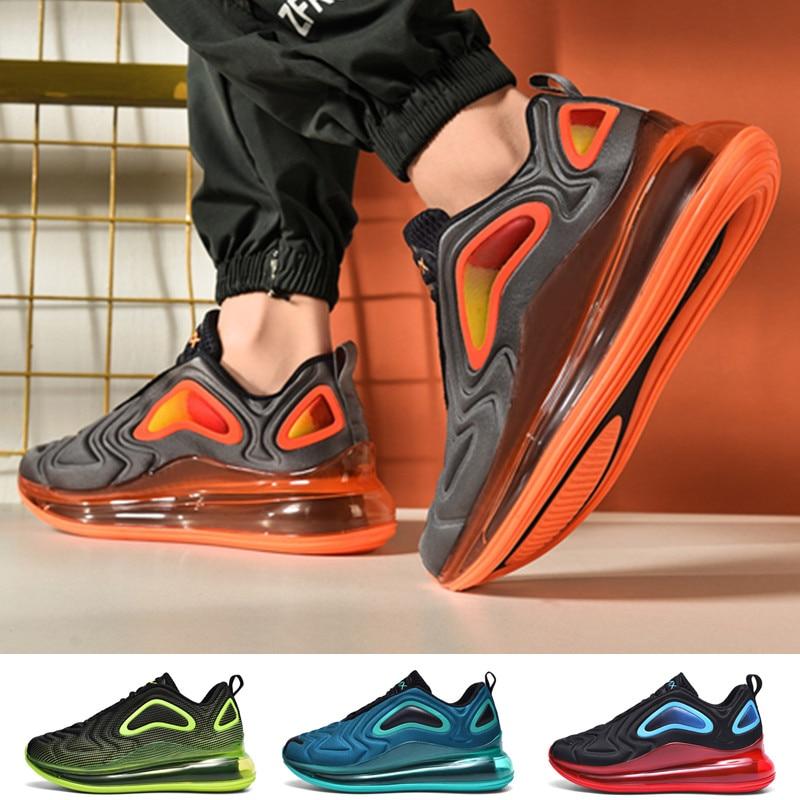 Tênis masculinos max air running sapatos moda fundo macio aumentado de alta qualidade sapatos esportivos