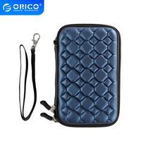 "ORICO PHC 25 BL 2.5 ""외부 휴대용 HDD 상자 케이스 용 2.5 인치 보호 가방 파란색|2.5 bag|bag for hddexternal hdd bag -"