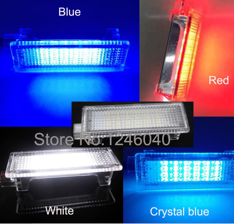 FOR BMW 3 SER F30 F31 2012 On 18 LED FOOTWELL BOOT DOOR COURTESY GLOVE BOX LAMPS
