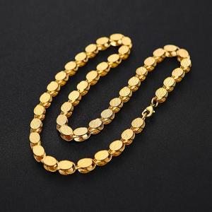 Image 5 - Ethlynブランド長さ60センチ/幅8ミリメートルエチオピア/eritreanジュエリーチェーン手作りゴールドカラー太いネックレス&チェーンn032