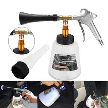 Hot koop Auto Schoonmaken Pistool Hoge Druk Lucht Pulse Oppervlak Interieur & Exterieur Auto Body Window Cleaning Tools(China)