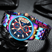 Men Watches 2020 Luxury Rainbow Fashion Chronograph Military Sport Watch for Men MINI FOCUS Wrist Watch часы мужские спортивные