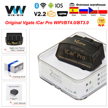 OBD2 Scanner ELM Auto-Tools Car-Diagnostic Vgate Icar Elm327 Wifi Bluetooth-4.0 Android/ios