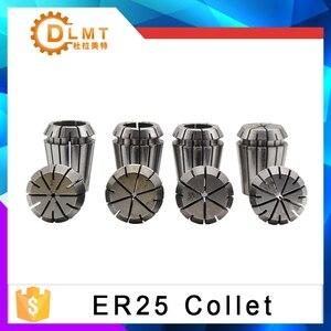 Image 2 - ER25 15 قطعة المشبك مجموعة 3 مللي متر إلى 16 مللي متر المدى ل طحن نك النقش آلة أداة المحرك محور