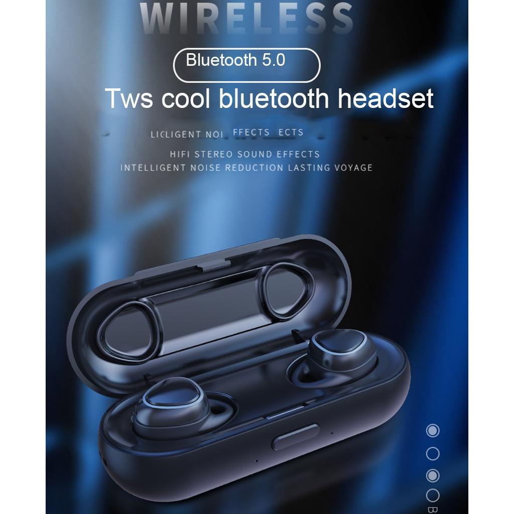 XI7 TWS Mini Twins HIFI Bluetooth earphone 3D stereo wireless earphone with microphone Sport Wireless earphone With Mic