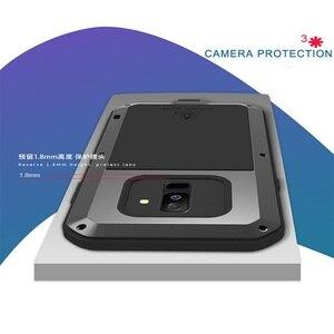 Image 2 - Металлический чехол для samsung Galaxy A5 A3 A7/Alpha противоударный чехол 360 полный корпус защитный чехол для samsung A8 A6 A9 2018 Plus