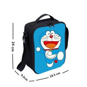 Image 5 - Mini Lunch Bag Kids Boys Girls Fashion Cute Cartoon Anime Kirby 3D Printing Ice Bag Insulated Thermal Picnic Lunchbox Sac A Main