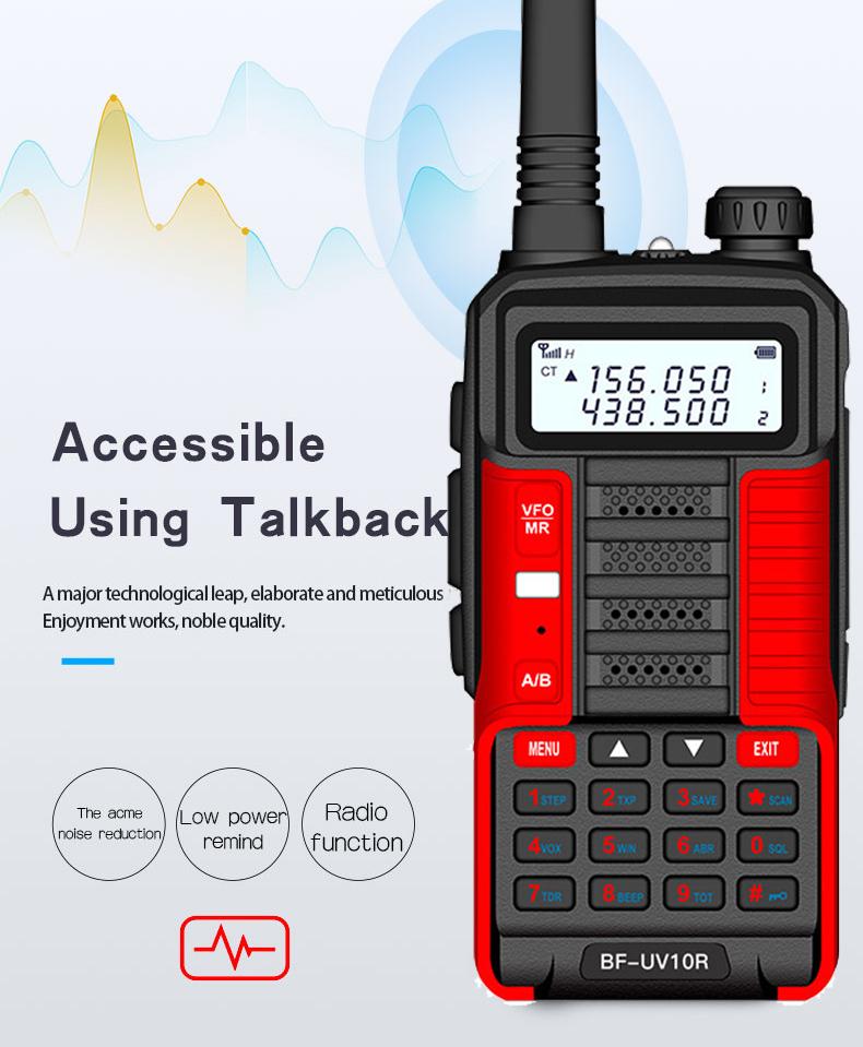 Baofeng Walkie Talkie UV-10R,Better Than Baofeng UV5R