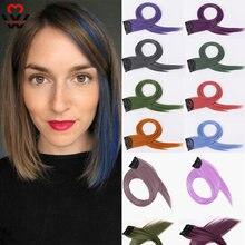 Manwei 60 см пряди для наращивания волос длинные прямые женские