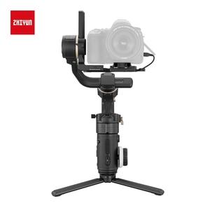Image 3 - Zhiyun oficjalny żuraw 3S 3S Pro 3S E 3 osiowy ręczny stabilizator Maxload 6.5KG dla czerwonego kina aparat DSLR kamery wideo Gimbal