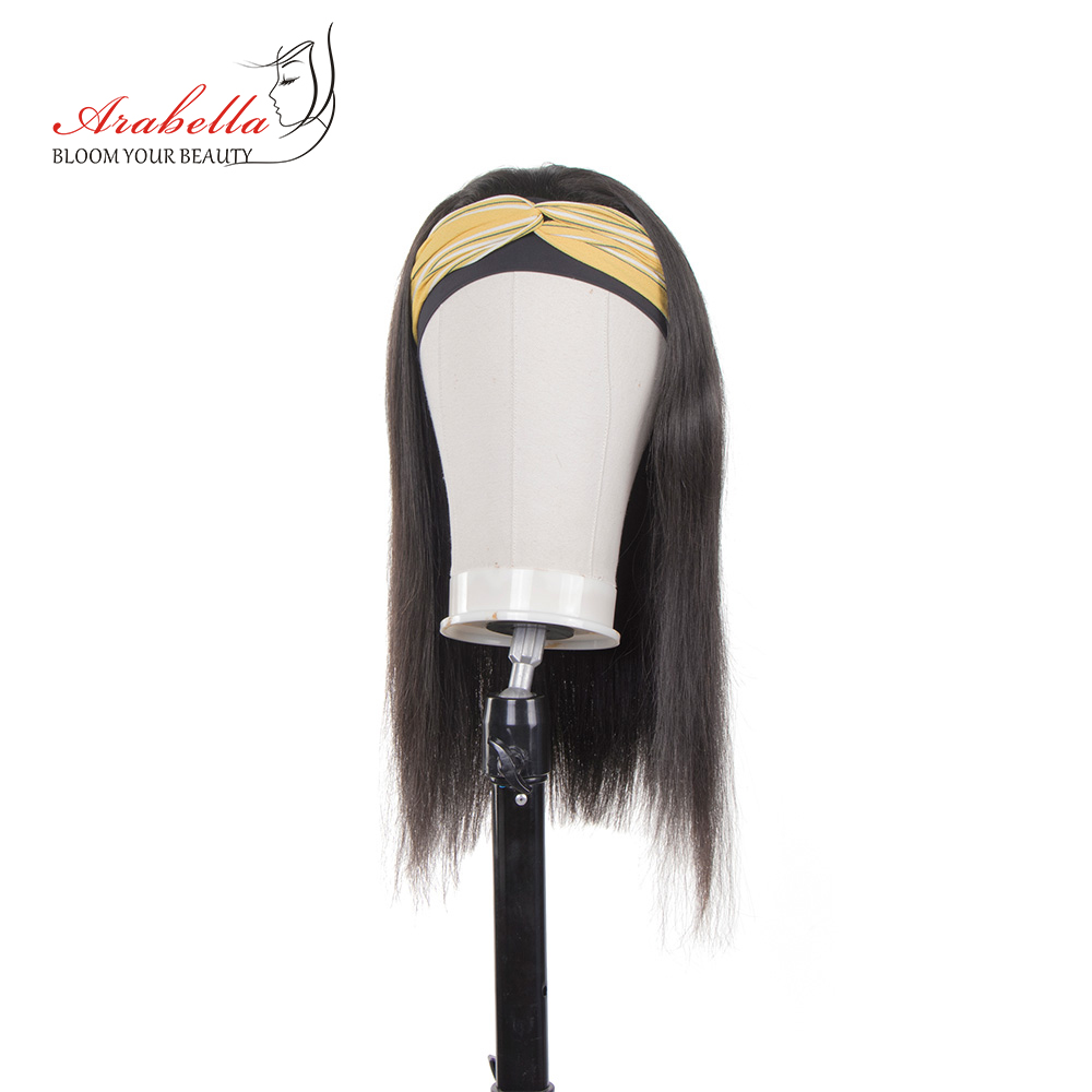 Headband Wig 100%  Wigs  Hair Arabella Full Machine Made Wig Easy to Install  Glueless Wig 4