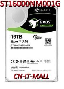 Seagate Exos ST16000NM001G 16TB X16 SATA 6Gb/s 512e/4Kn 7200 RPM 256MB Cache 3.5