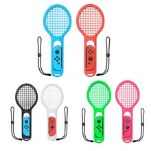 Switch Tennis-Racket for Small-Handle Mario Game-Grip