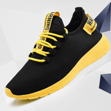 Men Shoes Sneakers Tenis Masculino Male Breathable Wholesale No-Slip Lace-Up Lightweight