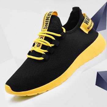 Men Vulcanize Shoes Sneakers Breathable Men Casual Shoes No-slip Male Lace Up Men Shoes Lightweight Tenis Masculino Wholesale 1