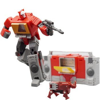 Mini figura Robot de juguete MFT Transformation MF-49 MF49 emisor grabador modo Pocket War Action