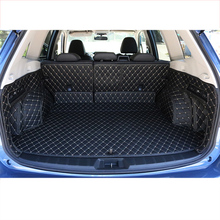 Lsrtw2017 Leather Car Trunk Mat Cargo Liner for Subaru Forester 2013 2014 2015 2016 2017 2018 2019 2020 Rug Carpet Accessories