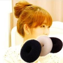 Donut Hair Styling Tools Messy Hair Bun Maker Women Hair Clip Hair Braid Elastic Hair Band Hair Accessories Girl Ponytail Holder