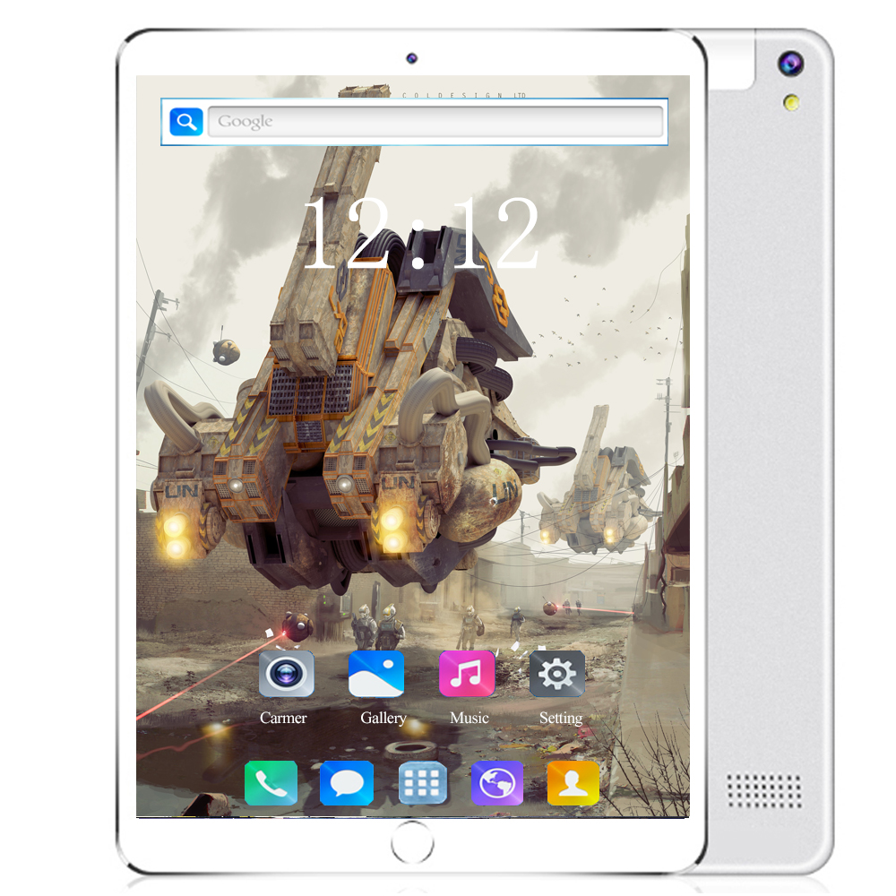 Multi-touch Glass Screen 10.1 Inch Octa Core 4G FDD LTE Tablet 6GB RAM 64 128GB ROM Dual Cameras Android 8.0 Tablet 10 Pocket PC