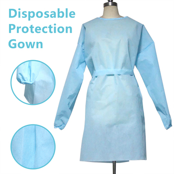 Universal Unisex Disposable Protective Suit Isolation Gown Elastic Coveralls PPE Work Wear Safety Protection Suit