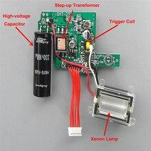 Сменная плата для вспышки камеры Xenon Highlight camera Flash Высоковольтная вспышка фотовспышка Запчасти для клавиатуры