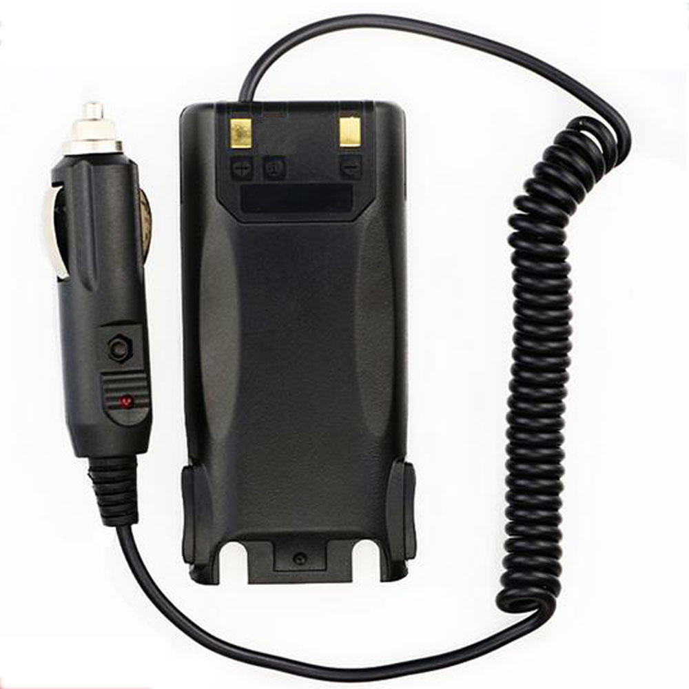 Free Shipping Product Car Charger Radio Battery Eliminator For BAOFENG UV-89 UV-82 Electrical Equipment For Two Way Radio