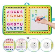 23.5*21cm portátil água desenho livro & caneta mágica viagem doodle livro reutilizável pintura colorir board brinquedos educativos para crianças