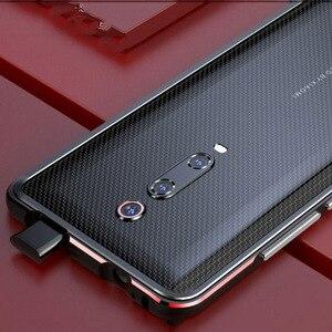 Image 2 - Dành Cho Xiaomi Mi 9T Ốp Lưng Funda Hãng Cao Cấp Bóng Nhôm Ốp Lưng Ốp Lưng Cho Xiaomi Mi 9T Pro Điện Thoại bao Da Khung Kim Loại + Quà Tặng
