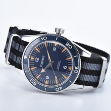 Men Watch Corgeut Blue Miyota Automatic 41mm Ceramic Bezel Movement Dial Sapphire Glass