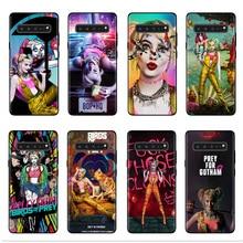 Birds of Prey Harley Quinn 2020 Case for Samsung S10 S11 S8 S9 Plus S7 Edge S10e S11e Soft silicone Coque Phone Cover Cases Capa