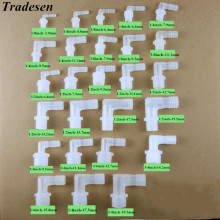 Outer-Tooth Plastic-Fittings Hose Elbow Thread Pagodas Male 1pcs Bend Outside-Of-The-Tower