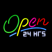 Hanging Open LED Neon Sign Light Board Beer Pub Bar Party Wa