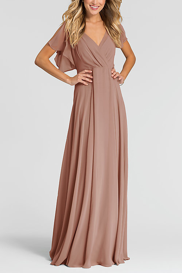 Elegant Bridesmaid Dresses 2020 Chiffon Party Dress Graceful Robe De Demoiselle D Honneur Vestido Fiesta Vestido Festa
