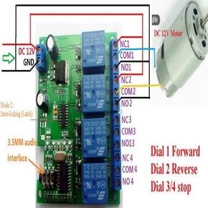 Image 5 - CE023 DC 12V DTMF MT8870 電話音声デコーダ制御モメンタリトグルラッチ遅延タイマー多機能リレーモジュール