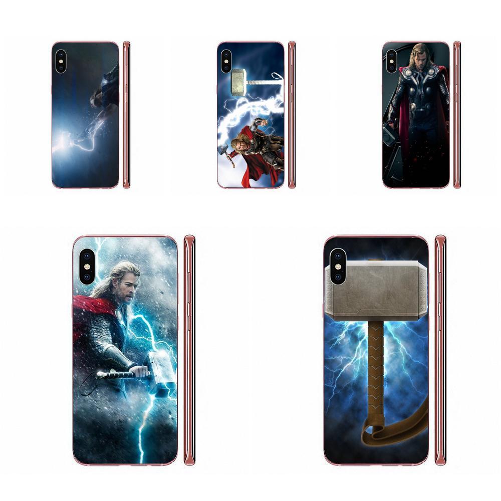 Nova Chegada suave Para Galaxy A10 A10S A20 A20S A20E A30 A30S A40 A40S A50 A50S S8 S9 S10 S20 além de Capacete Loki Thor Martelo Luke 2