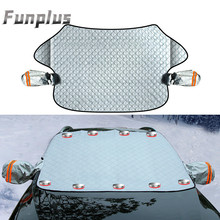 Visor Windshield-Cover Ice-Protector Sun-Shade Block-Shields Front Car