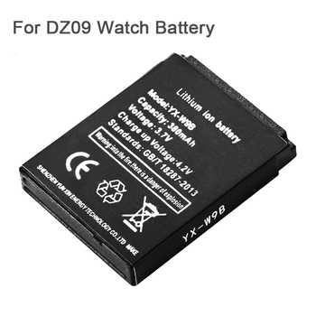 1pcs 380mAh Smart Watch Rechargeable Battery For A1 DZ09 Smart Watch Battery Li-ion Bateria for A1 DZ09 Smart Watch Battery