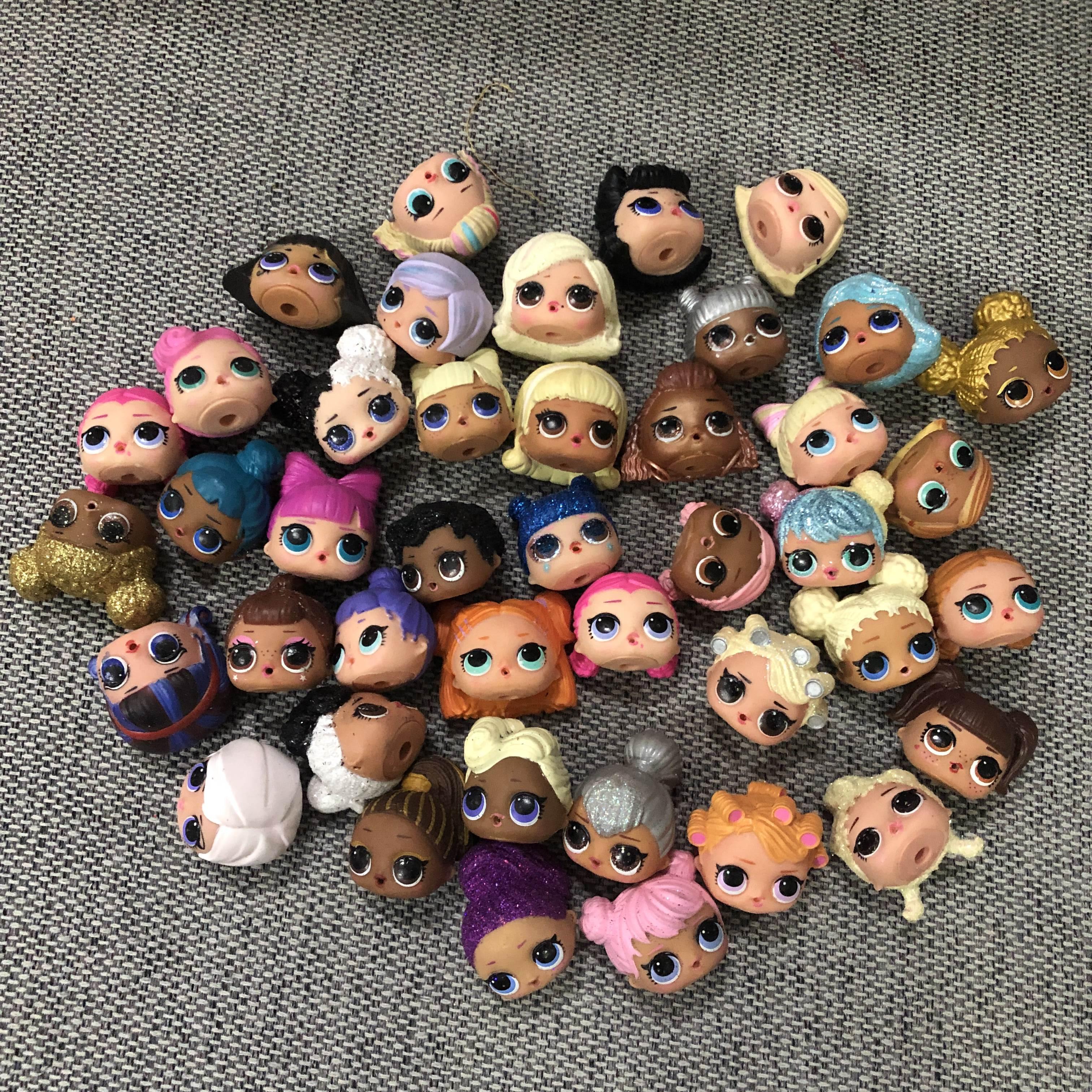 LOL Doll Surprise Original  Head Dolls Action Figure Model Girl Christmas Gift Toys For Chilren