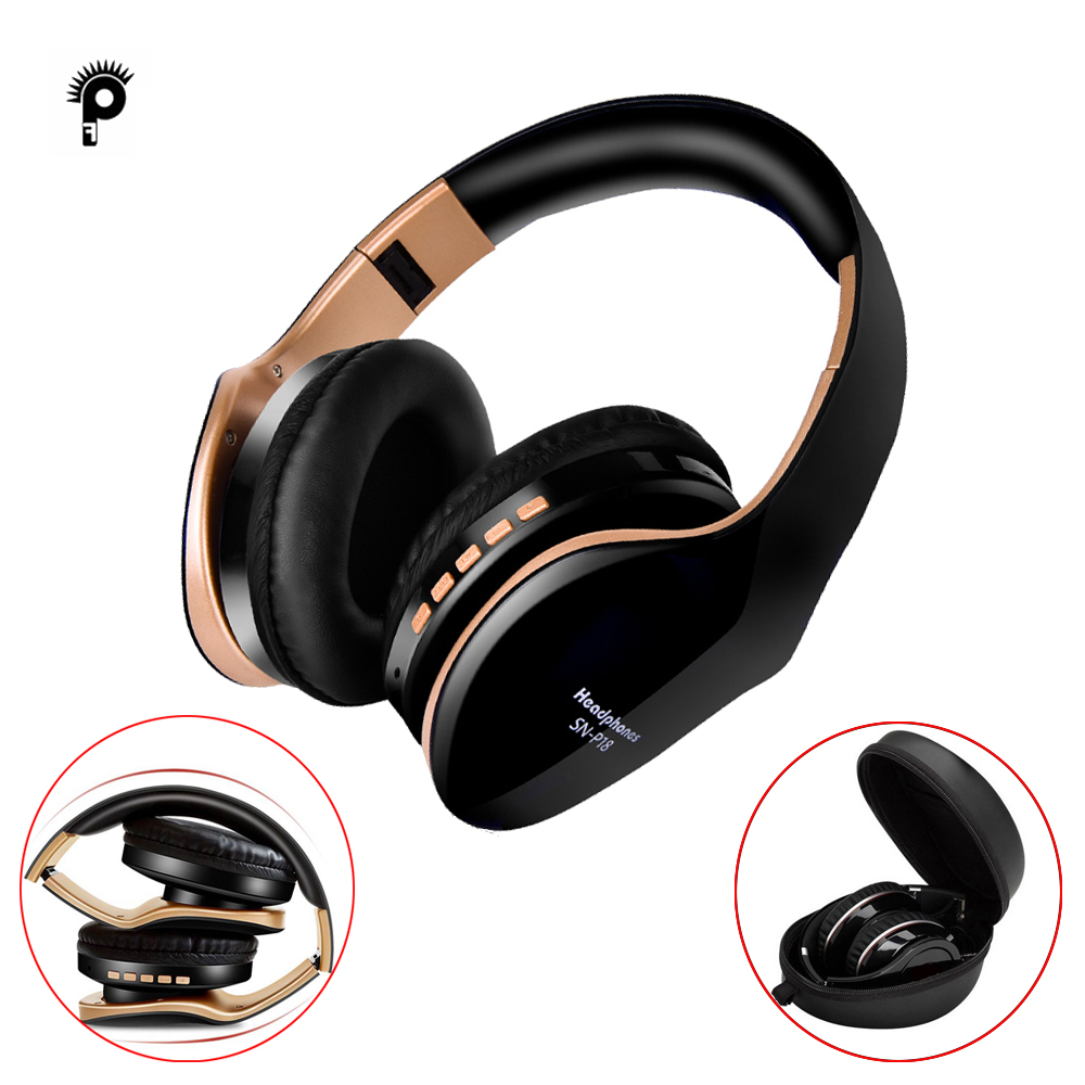 Punnkfunnk Wireless Headphones V5 0 Edr Bluetooth Headset For Mobile Phone Mp3 Foldable Stereo Noise Reduction Gaming Earphones Aliexpress