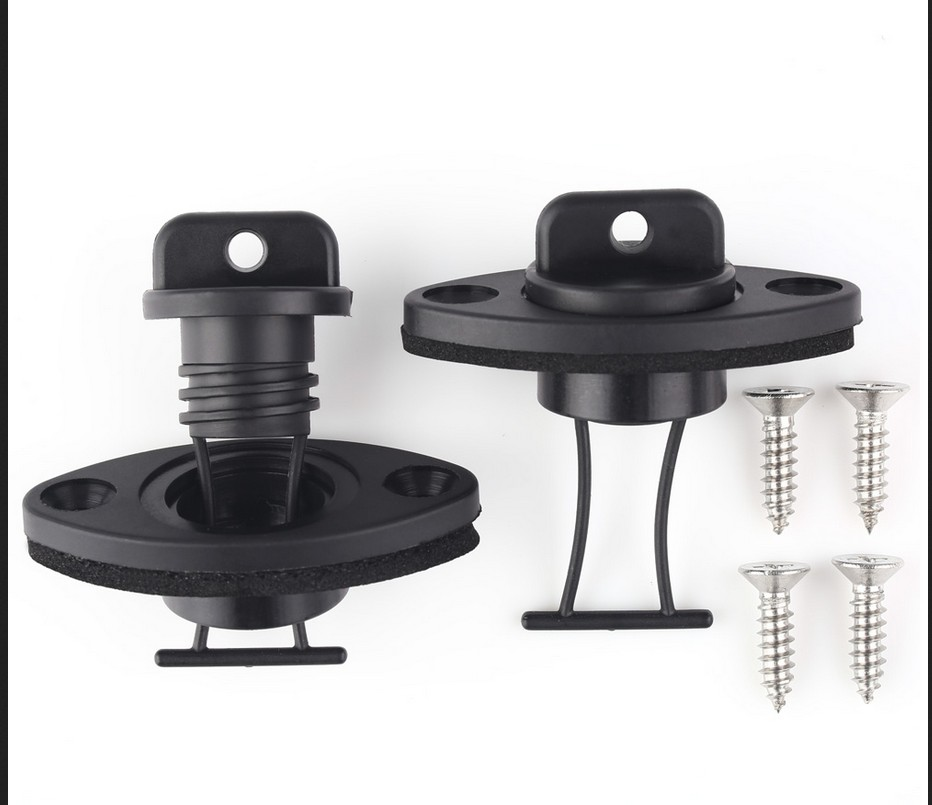 Kayak Drain Plug Kit Professional Canoe Kayak Boat Thread Bung Scupper Stopper Drain Holes Plugs Boat Thread Drain Plug