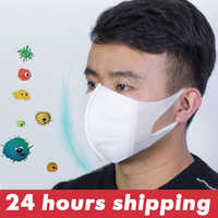 3D Mouth Masks Anti-Dust Mouth-Muffle Breathable Respirator Protective Cover Masks Prevent Bacteria Masks Disposable Health Care